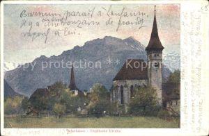 Interlaken BE Englische Kirche Kat. Interlaken