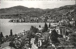 Territet Montreux Hotel Bonivard / Montreux /Bz. Vevey