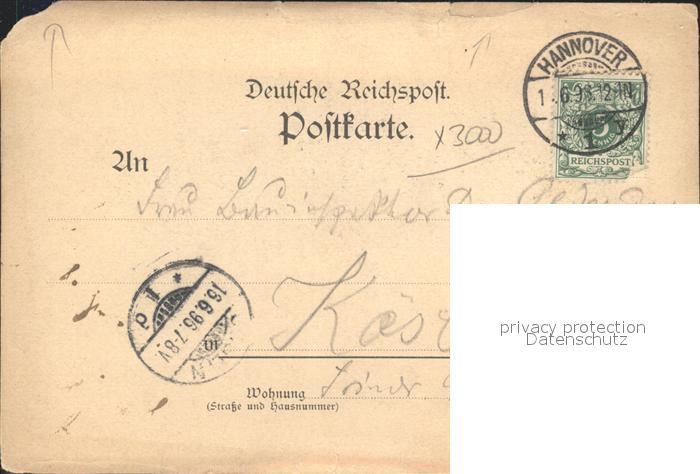 Eilenriede Waldwirtschaft Bischofshole Kat. Hannover 1