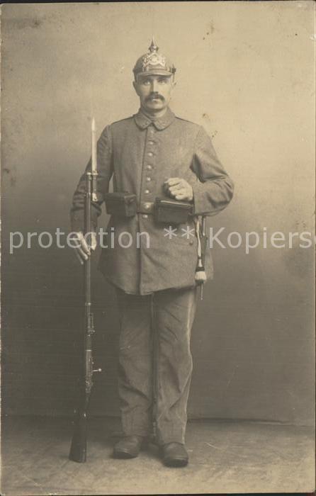 Regiment Bayern KBLaR 018 Landwehr soldat Pickelhaube