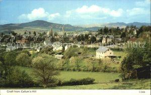 Crieff Perth Kinross from Callum s Hill