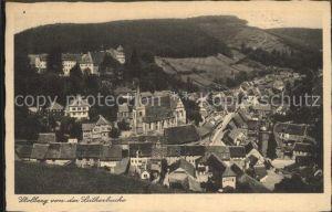 Stolberg Harz Blick von der Lutherbuche Kat. Stolberg Harz