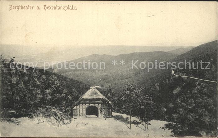 Thale Harz Bergtheater und Hexentanzplatz Kat. Thale