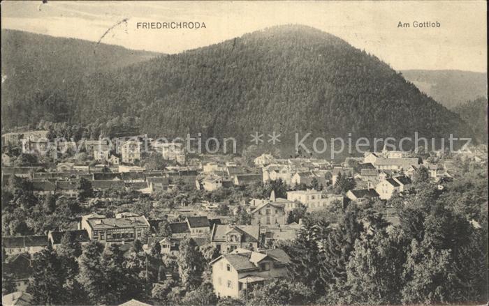 Friedrichroda Am Gottlob Kat. Friedrichroda