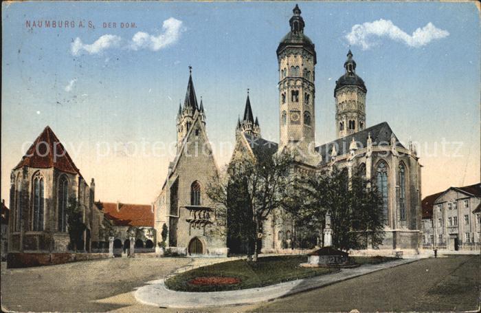 Naumburg Saale Der Dom  Kat. Naumburg