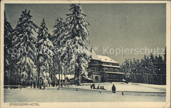 Friedrichroda Hotel Pension Spiessberghaus Winter Kat. Friedrichroda