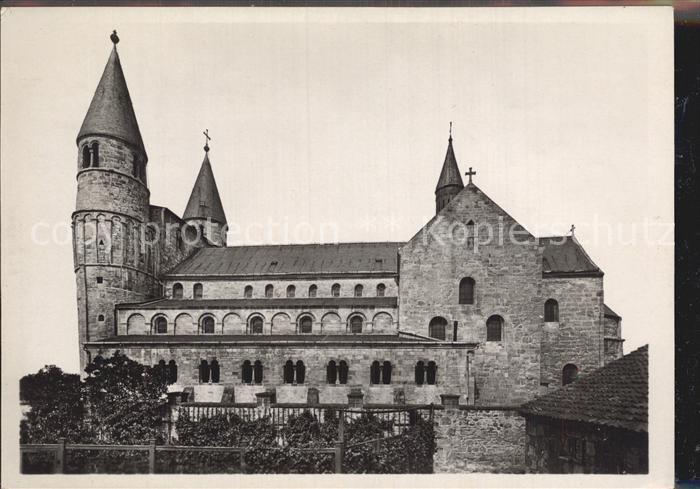 Gernrode Harz Stiftskirche Kat. Gernrode Harz