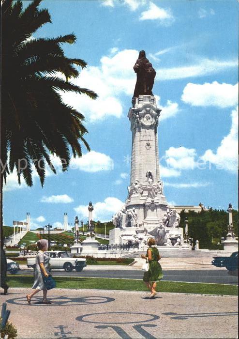 Lisboa Place du Marquis de Pombal Kat. Portugal