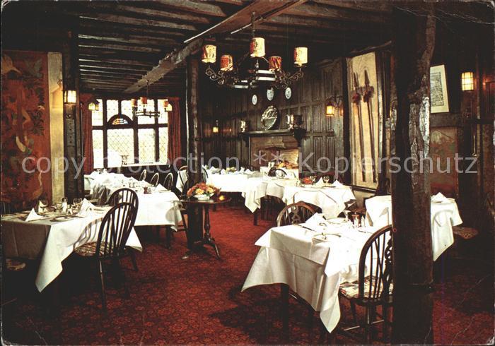 Rye East Sussex Mermaid Inn Restaurant  Kat. East Sussex