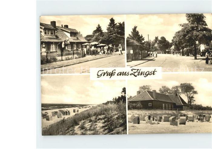 Zingst Ostseebad Strand / Zingst Darss /Nordvorpommern LKR