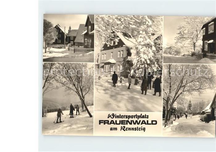 Frauenwald Thueringen  Kat. Frauenwald
