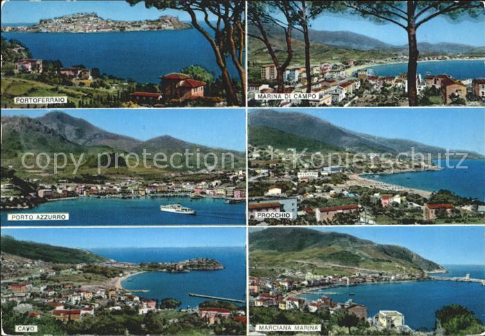 Marina di Campo Portoferraio Porto Azzurro Cavo Marciana Marina Kat. Italien