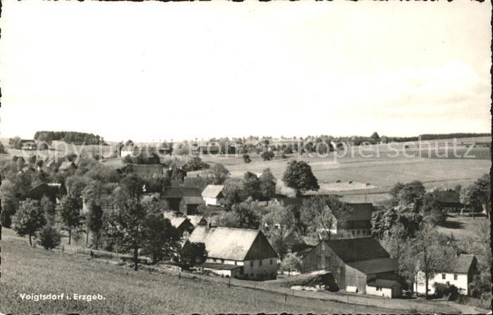 Voigtsdorf Erzgebirge  Kat. Dorfchemnitz Sayda