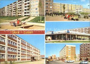 Lusan Gera birkenstrasse Kaufhalle Sud Zeulsdorfer Strasse Kat. Gera
