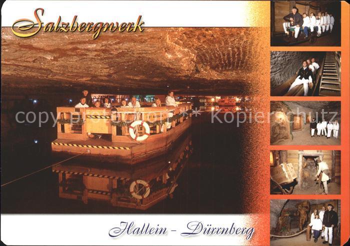 Duernberg Hallein Salzbergwerk Kat. Hallein
