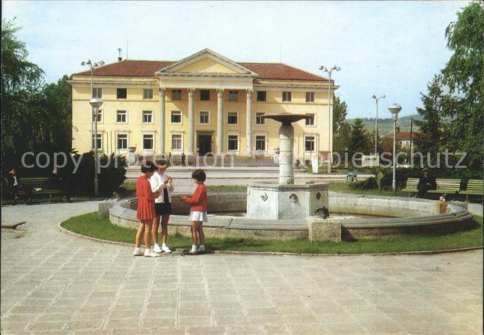 Bulgarien Kardshall Haus der Kultur / Bulgarien /