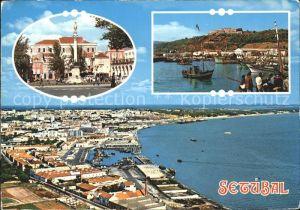 Setubal Teilansichten Hafen  Kat. Portugal