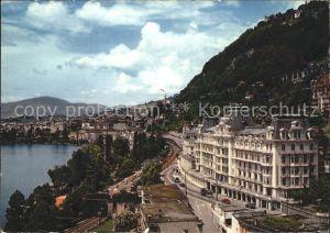 Territet Montreux Le Grand Hotel  / Montreux /Bz. Vevey