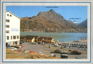 Bielerhoehe Silvretta Stausee Berghotel Bielerhoehe Hohes Rad Piz Buin Kat. Gaschurn