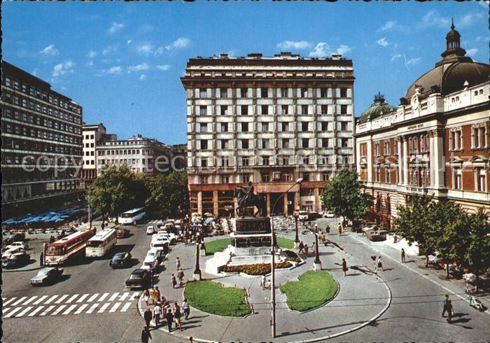 Belgrad Serbien Republikplatz Kat. Serbien
