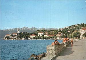 Lopud Dubrovnik Promenade / Insel Lopud Dubrovnik /Hrvatska