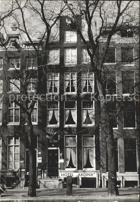Amsterdam Niederlande Hotel Pension Huize Ardina Kat. Amsterdam