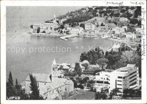 Lopud Dubrovnik Blick auf den Hafen / Insel Lopud Dubrovnik /Hrvatska
