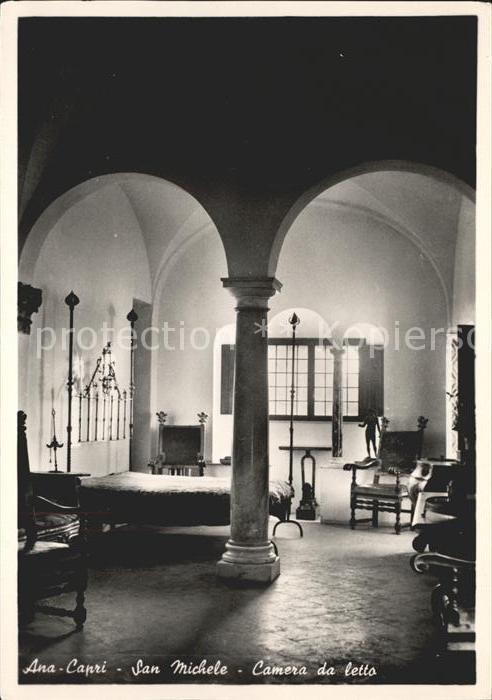 San Michele di Pagana Ana Capri Camera da letto Kat. Rapallo Nr ...
