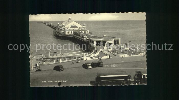 Herne Bay The Pier Valentine's card / City of Canterbury /