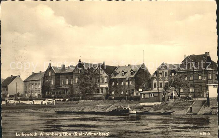 Wittenbergen Elbe Elbe Klein Wittenberg Kat. Hamburg