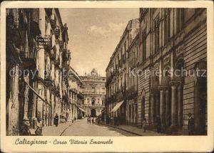 Caltagirone Corso Vittorio Emanuele Kat. Catania