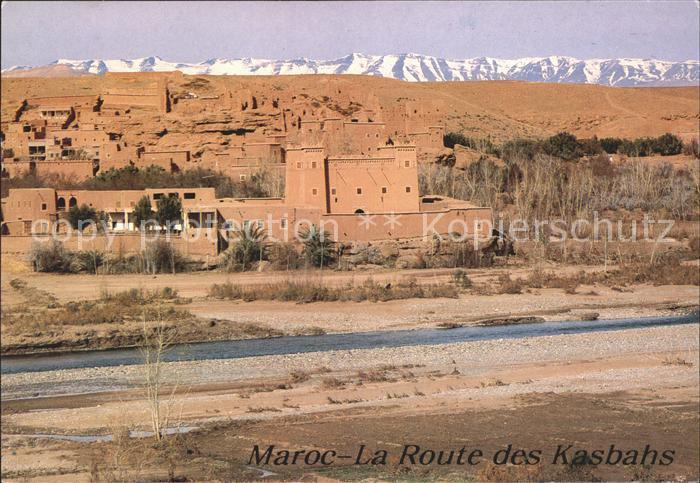 Maroc Marokko La Route des Kasbahs Kat. Marokko