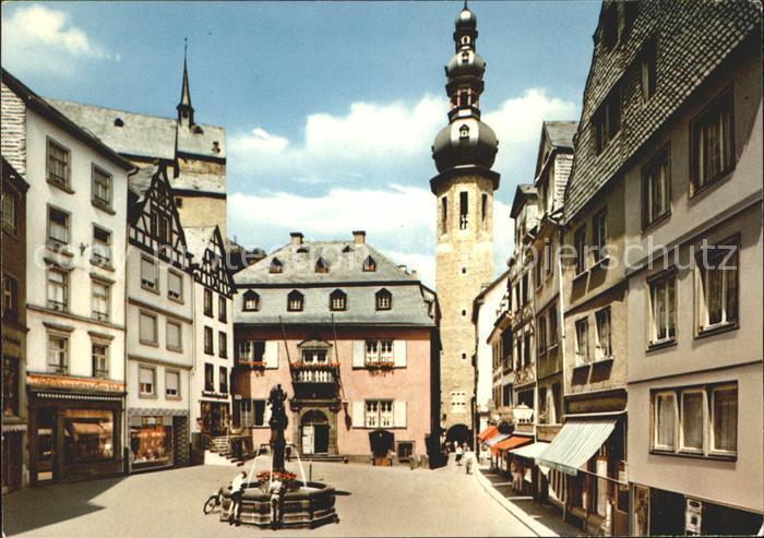Cochem Mosel Marktplatz Kat. Cochem