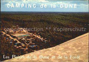 Arcachon Gironde Camping de la Dune Kat. Arcachon