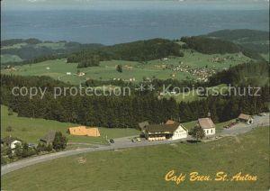 St Anton Oberegg Panorama Cafe Breu Kat. St. Anton