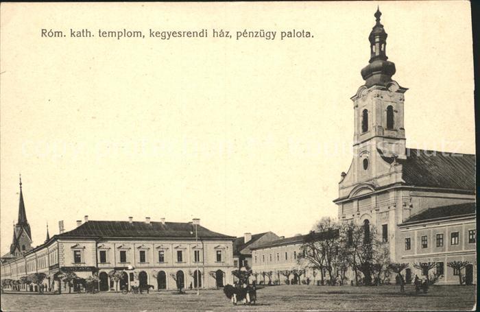 Ungarn Kirche Schloss Kat. Ungarn