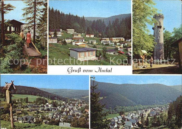 Ilmtal Schwalbenstein Campingplatz Meyersgrund Manebach Kat. Ilmtal