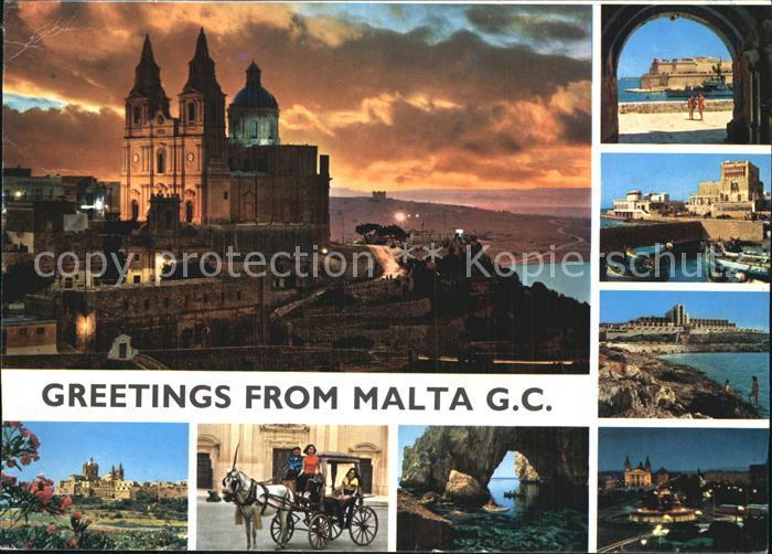Malta Ortsansichten Kat. Malta
