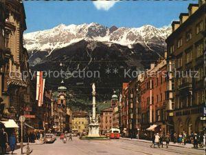 Innsbruck Maria Theresien Strasse Annasaeule Kat. Innsbruck