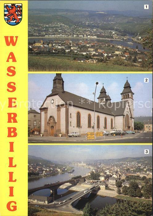 Wasserbillig Vue generale Eglise Vue panoramique Kat. Luxemburg