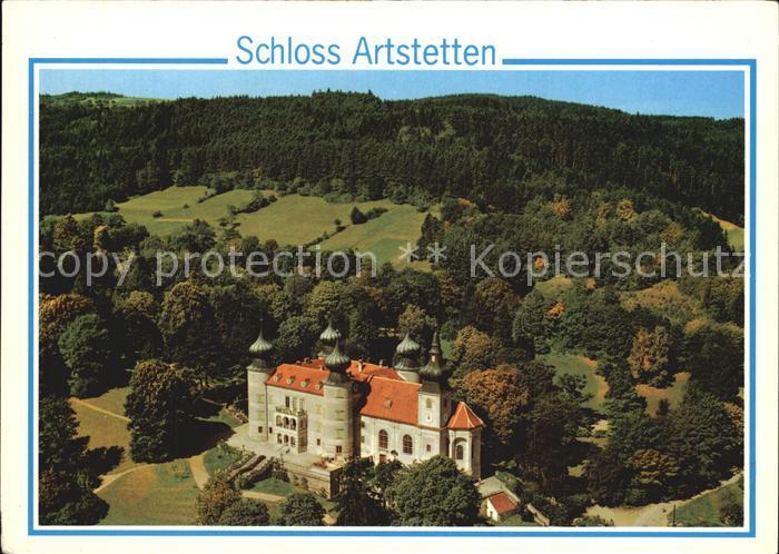 Artstetten-Poebring Schloss Artstetten Fliegeraufnahme / Artstetten-Poebring /Mostviertel-Eisenwurzen