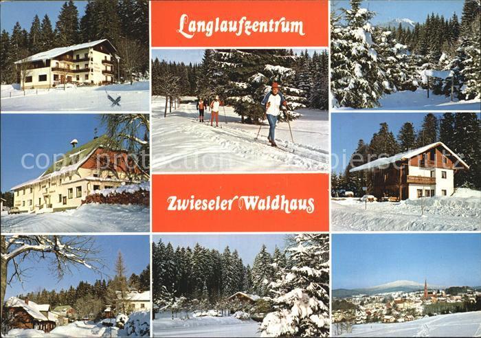 Zwiesel Niederbayern Zwieseler Waldhaus Panorama Teilansichten Kat. Zwiesel