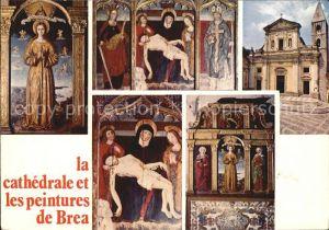 Sospel La Cathedrale les peintures de Brea Kat. Sospel