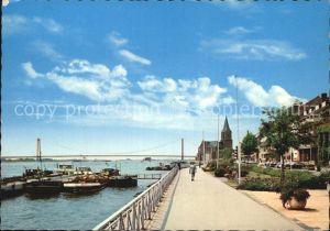 Emmerich Rhein Rheinpromenade Bruecke Kat. Emmerich am Rhein