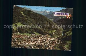 Landeck Tirol Ortsansicht ?tztaler Alpen Kat. Landeck