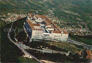 Montecassino Abbazia di Monte Cassino Vista dall aereo Kat.
