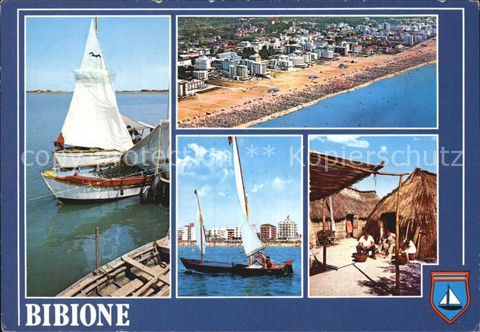 Bibione Segelboote Strand