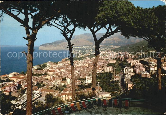 Sorrento Campania Panorama Kat. Sorrento