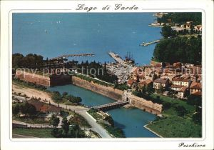 Peschiera Lago di Garda Luftbildaufnahme Kat. Lago di Garda Italien