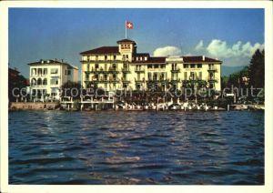 Lugano TI Lido Strandhotel Seegarten Kat. Lugano